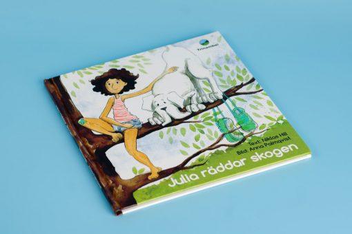 Julia räddar skogen niklas hill Anna Palmqvist trinambai sweden