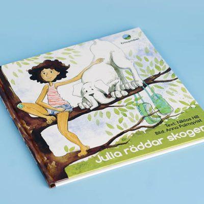 Julia Räddar skogen Trinambai Sverige